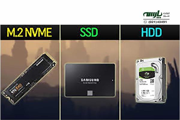 انواع هارد سرور HP