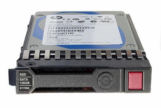 هارد سرور HP 120GB 6G SATA SSD
