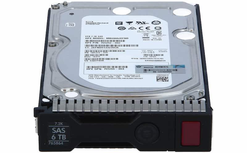 هارد سرور HP 6TB SAS 7.2K 12G